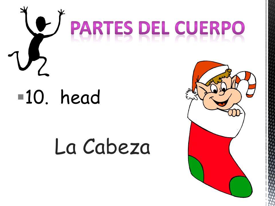10. head La Cabeza