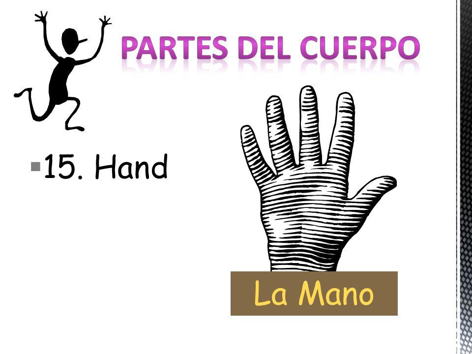 15. Hand La Mano