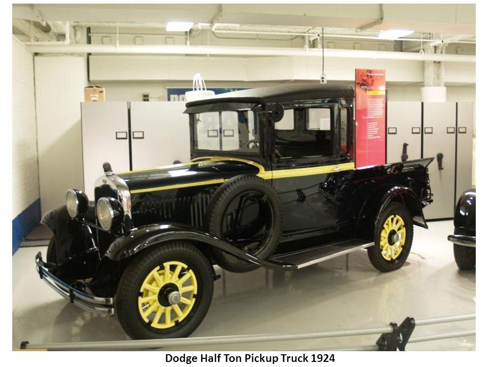 Chrysler Model B Phaeton 1924