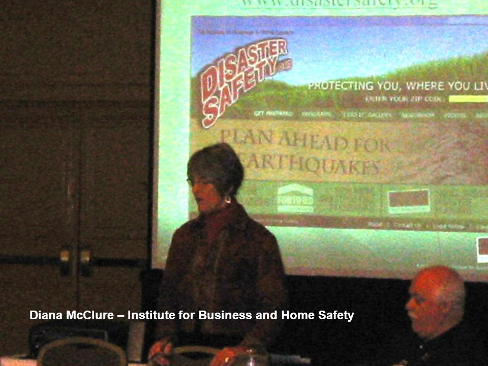 Diana McClure – Institute for Business and Home Safety