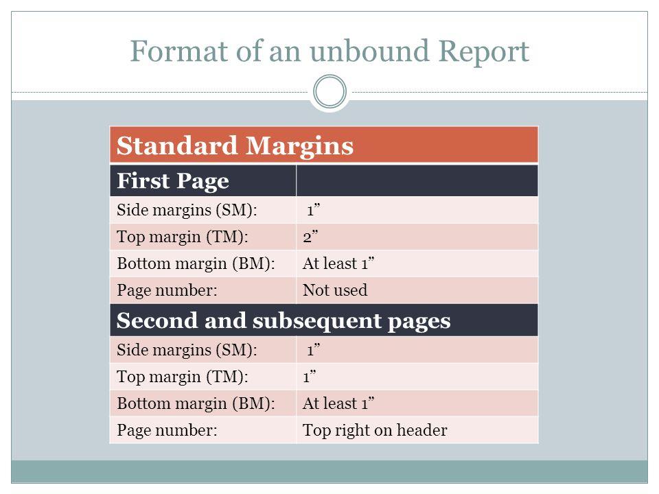 standard margins for college essay