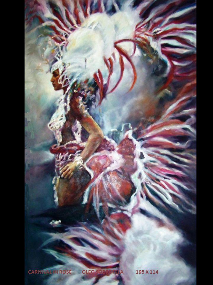 CARNIVAL IN ROSE OLEO SOBRE TELA 195 X 114