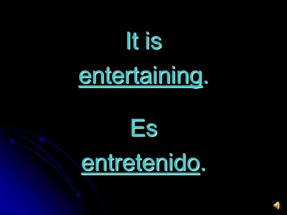 IT S INTELLIGENT ! ¡ ES INTELIGENTE !