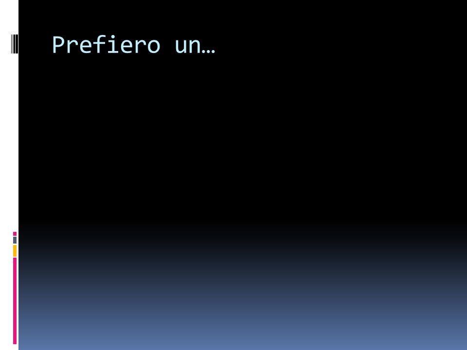 Id prefer…