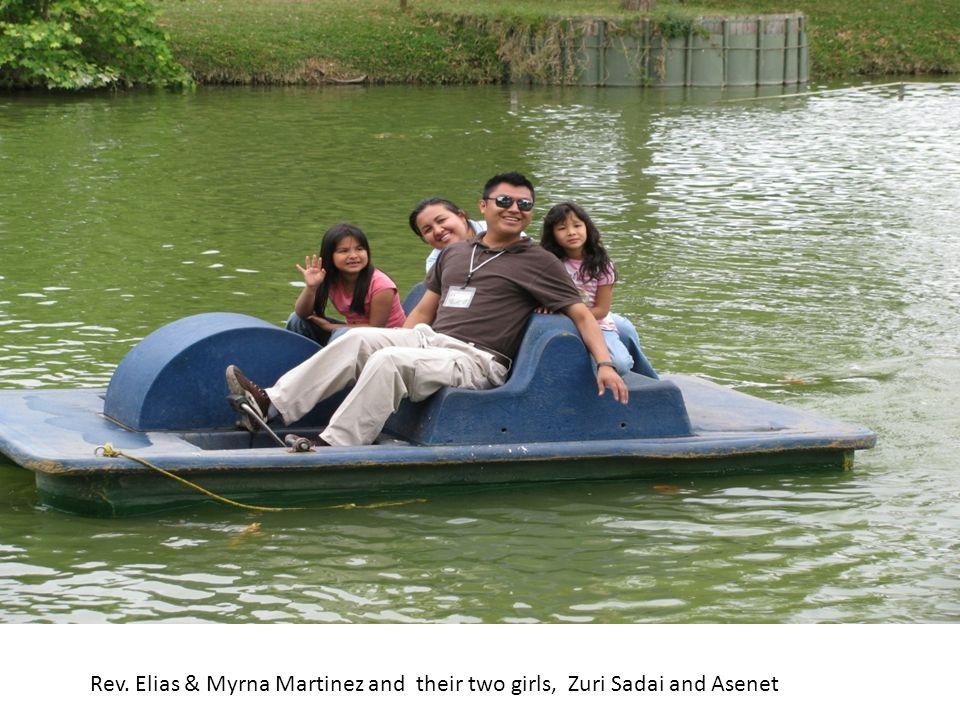 Rev. Elias & Myrna Martinez and their two girls, Zuri Sadai and Asenet