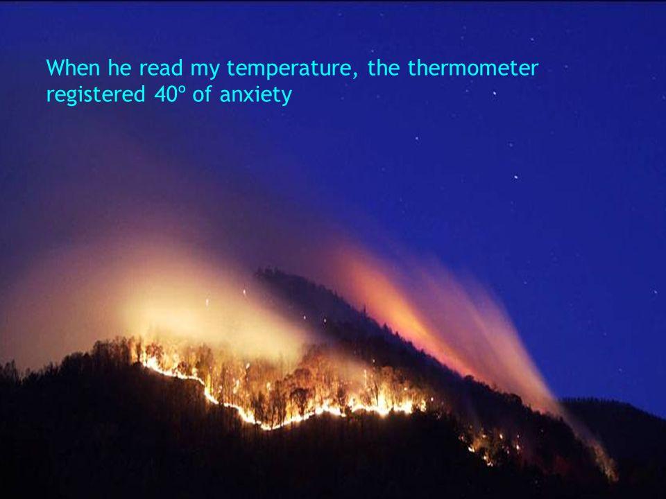 When Jesus took my blood pressure, He saw I was low in tenderness.