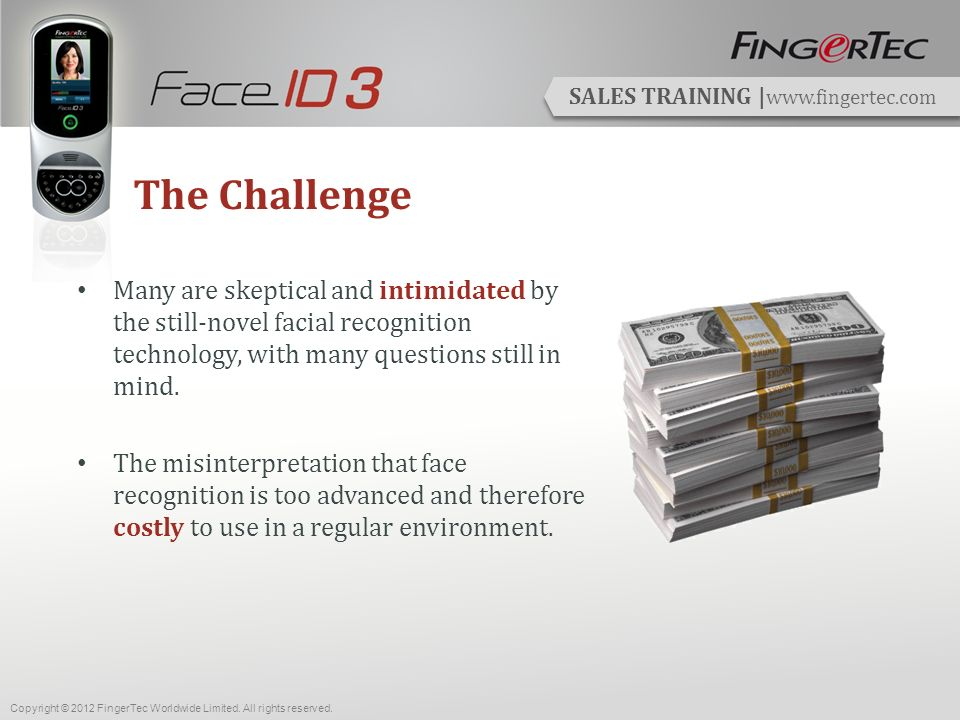 SALES TRAINING | www.fingertec.com View Attendance & Print Reports Its all easy with FingerTec & the TCMS V2.