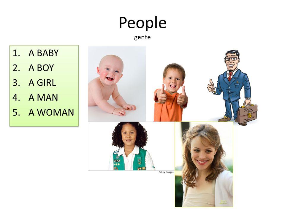 People gente