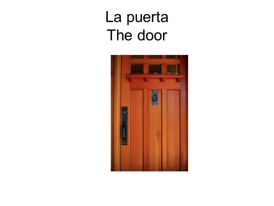 La puerta The door