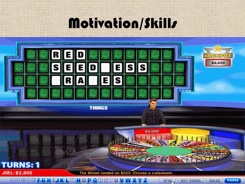 Motivation/Skills