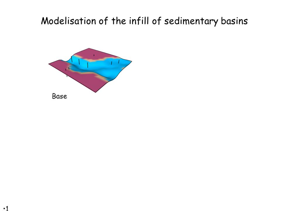 1212 Base Modelisation of the infill of sedimentary basins