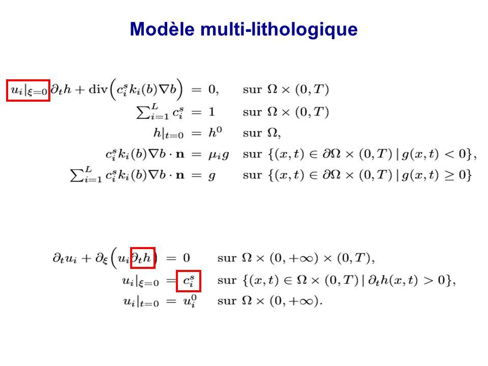 Modèle multi-lithologique