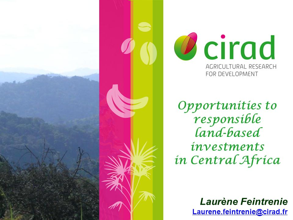 Land grab and conflicts over land.Impact on livelihoods and national economies.