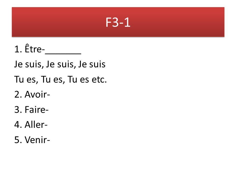 F 3-1 1.