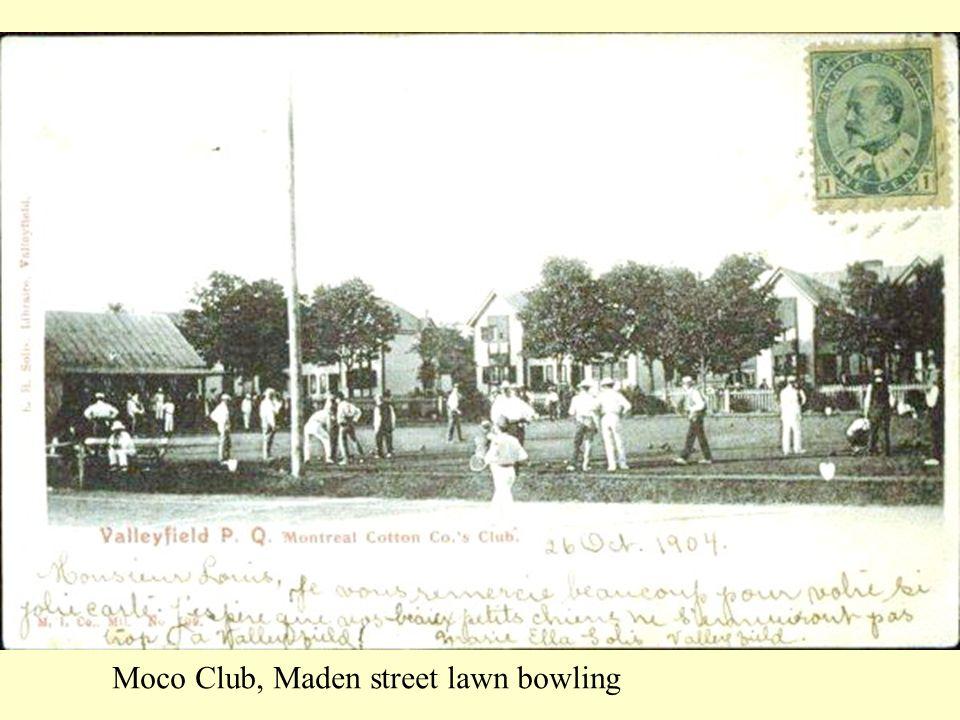 Moco Club, Maden street lawn bowling