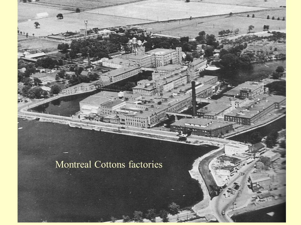 Montreal Cottons factories