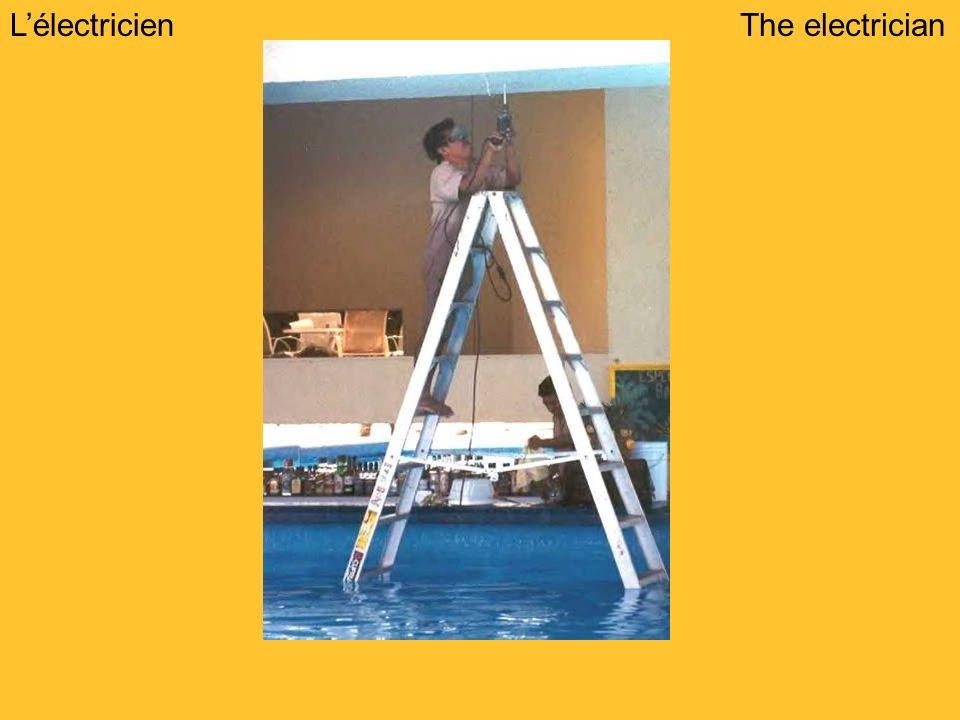 LélectricienThe electrician
