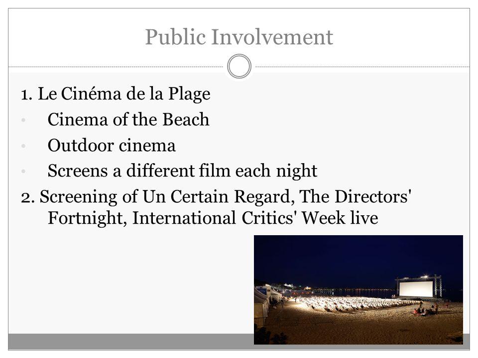 Public Involvement 1.