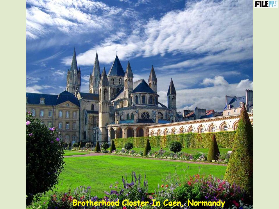 Brotherhood Closter In Caen, Normandy