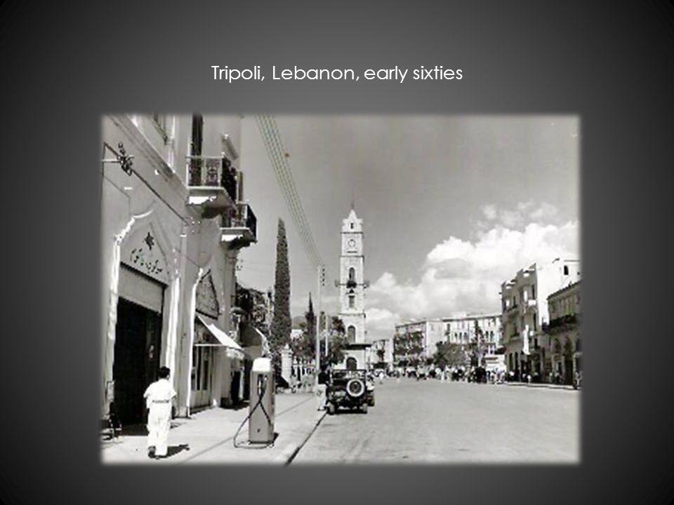 Tripoli, Lebanon, early sixties