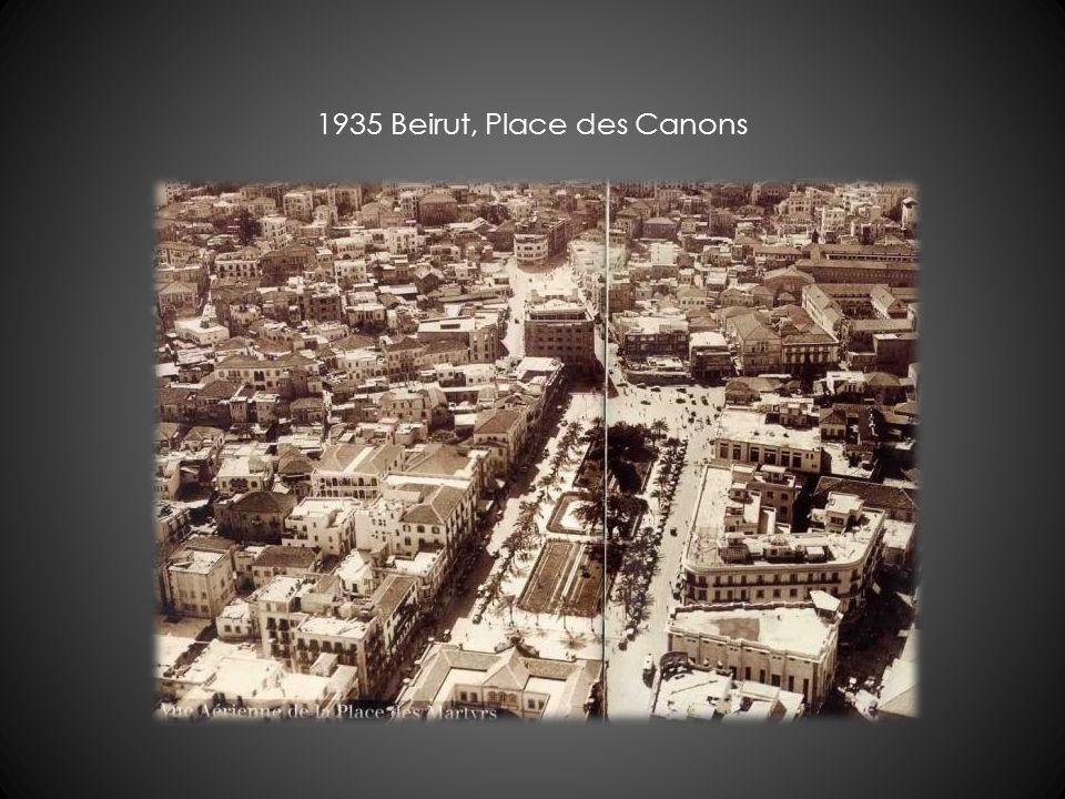 1935 Beirut, Place des Canons