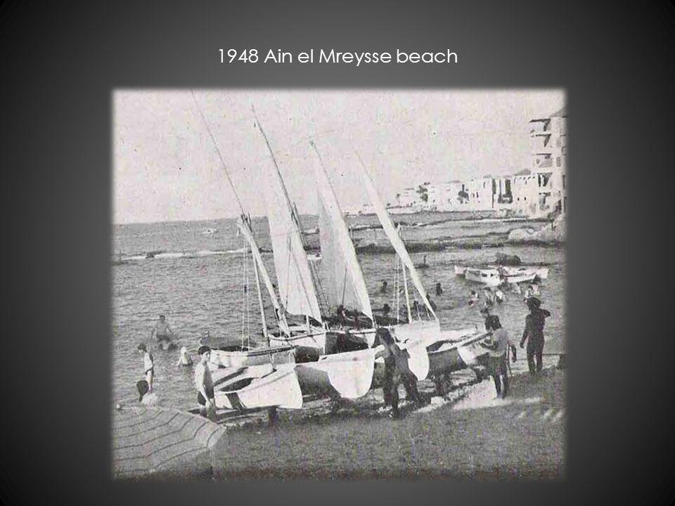1948 Ain el Mreysse beach