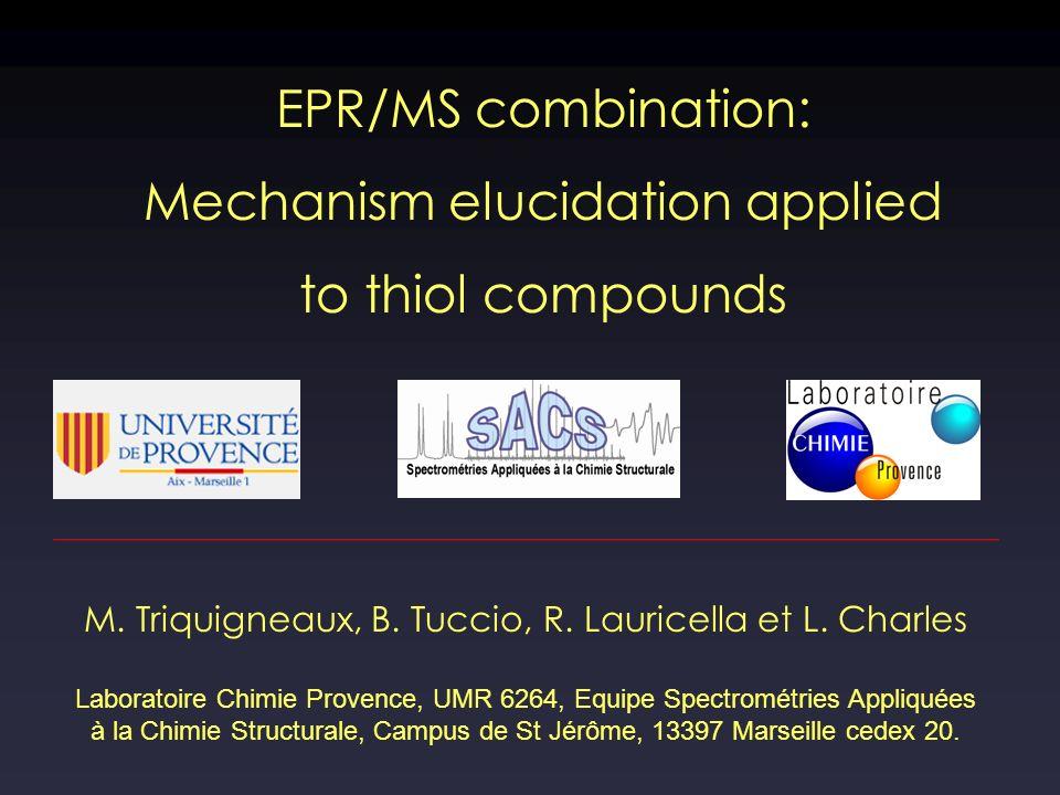 M. Triquigneaux, B. Tuccio, R. Lauricella et L.