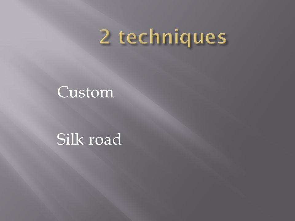Custom Silk road