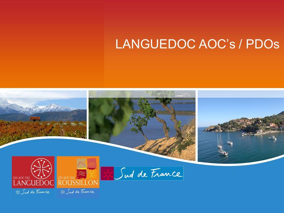 LANGUEDOC AOCs / PDOs