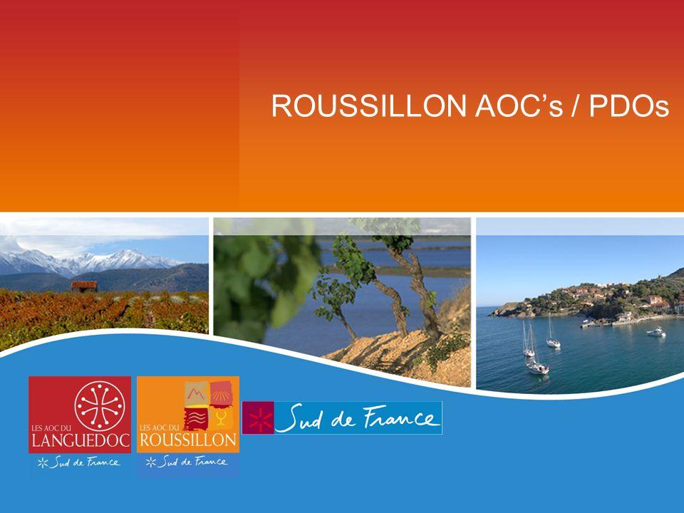 ROUSSILLON AOCs / PDOs