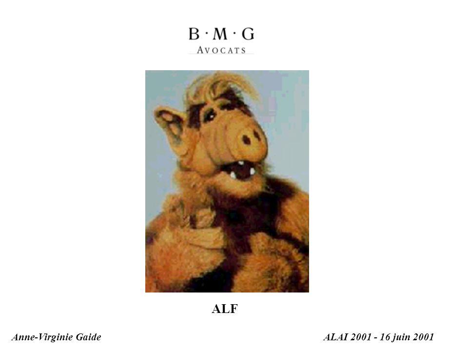 Anne-Virginie GaideALAI 2001 - 16 juin 2001 ALF