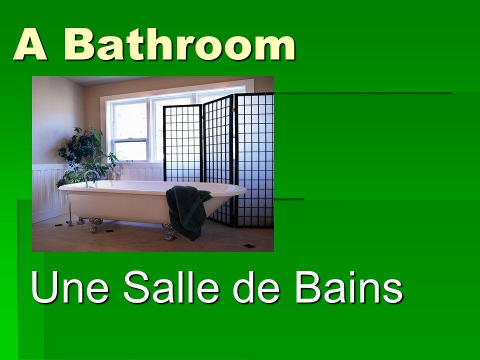 A Bathroom Une Salle de Bains