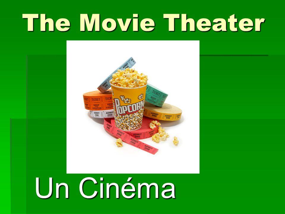 The Movie Theater Un Cinéma