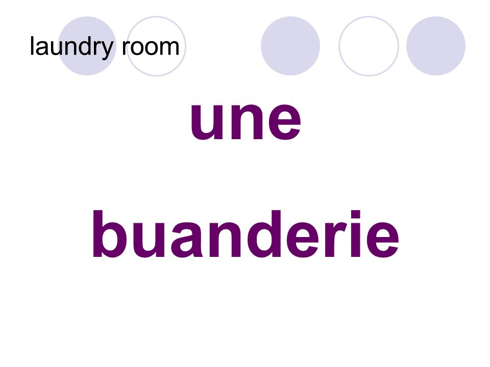 une buanderie laundry room