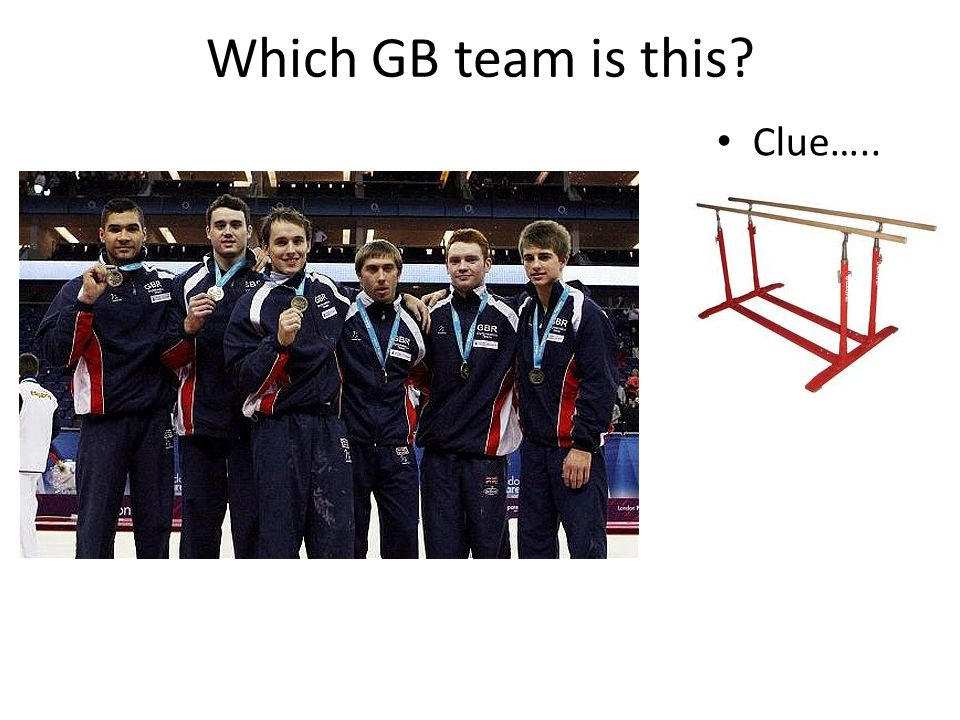 Which GB team is this? Clue…..