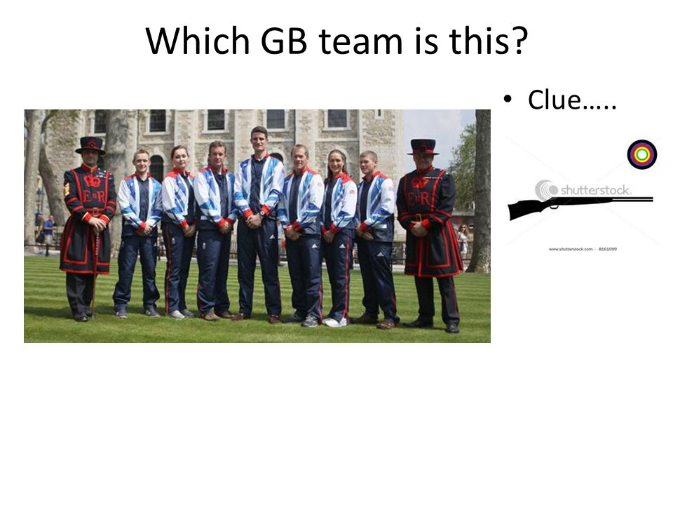 Which GB team is this Clue…..