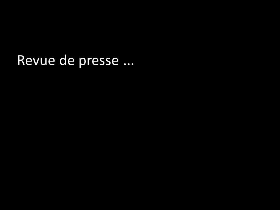 Revue de presse...
