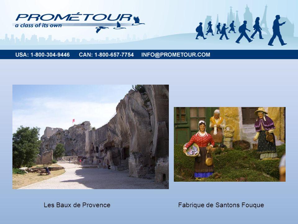 Les Baux de ProvenceFabrique de Santons Fouque