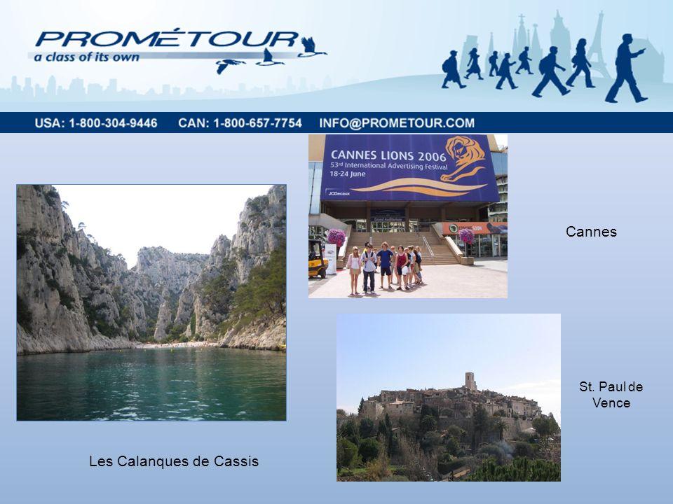 Les Calanques de Cassis Cannes St. Paul de Vence