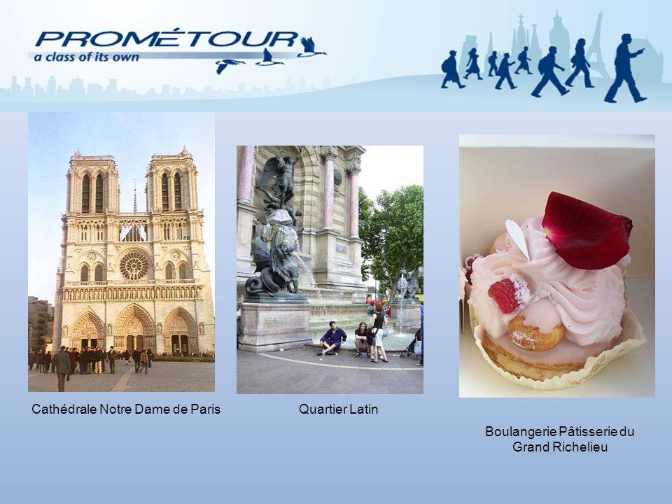 Cathédrale Notre Dame de ParisQuartier Latin Boulangerie Pâtisserie du Grand Richelieu
