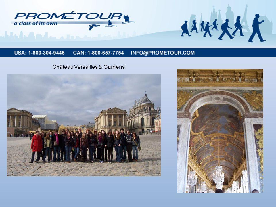 Château Versailles & Gardens