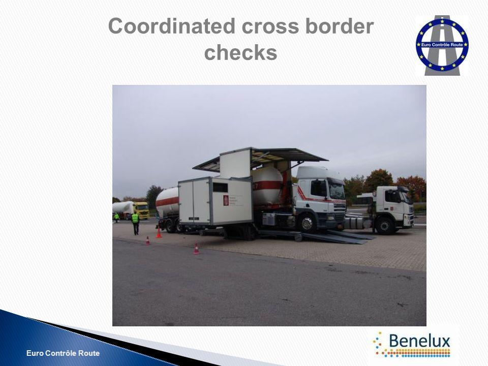 Euro Contrôle Route Coordinated cross border checks