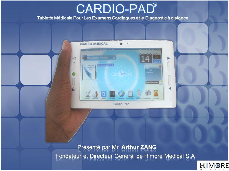 Tablette Médicale Pour Les Examens Cardiaques et le Diagnostic à distance