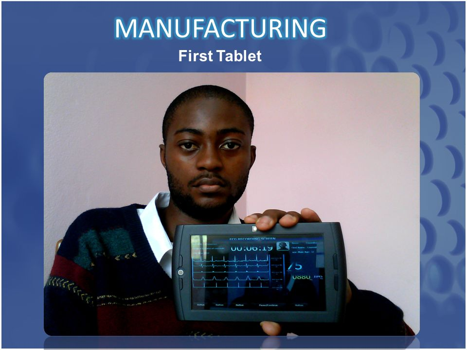 First Tablet