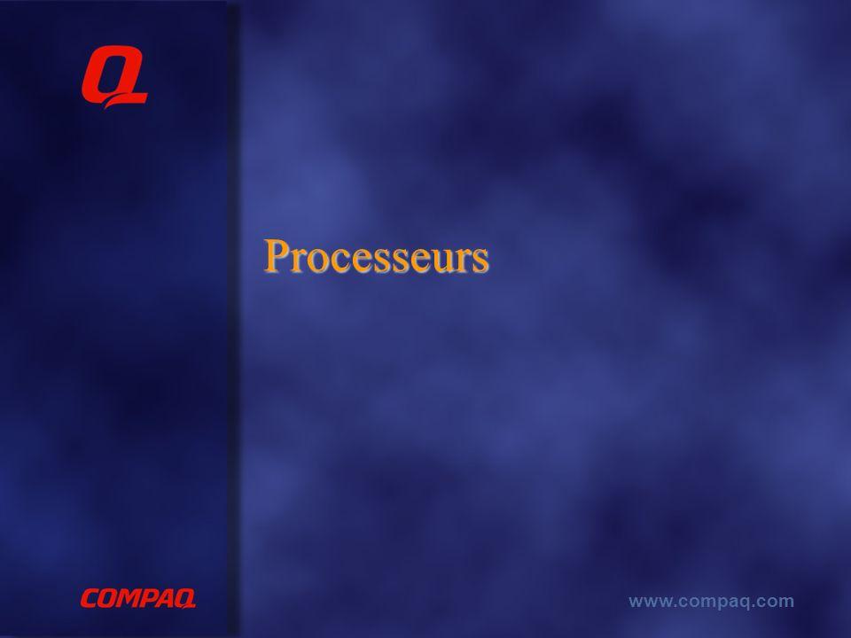 www.compaq.com Processeurs