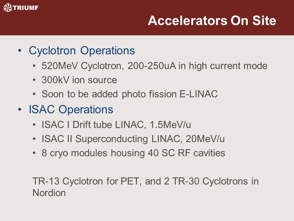 520 MeV Cyclotron