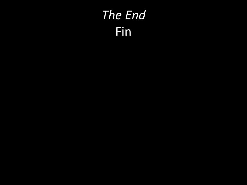 The End Fin