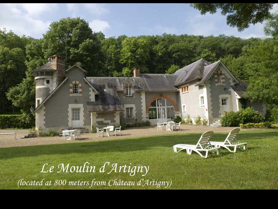 Le Moulin dArtigny (located at 800 meters from Château dArtigny)