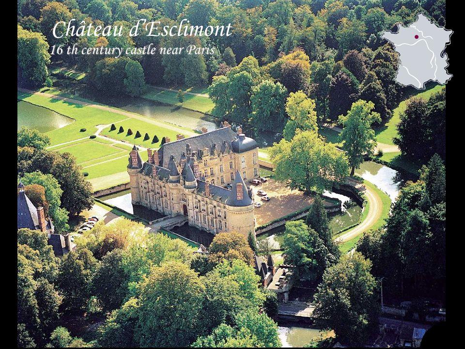 Château dEsclimont 16 th century castle near Paris