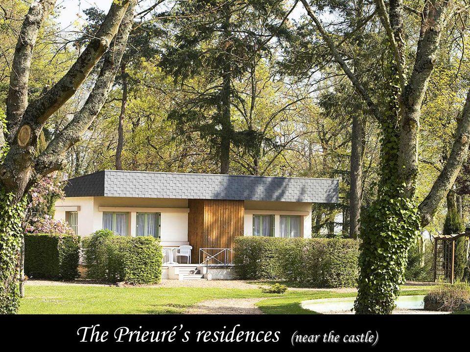 (near the castle) The Prieurés residences (near the castle)